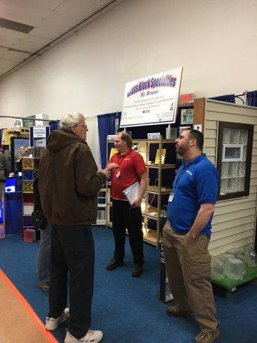 Dan Dulong and Joe Arneman @ The Builders Association Home Show