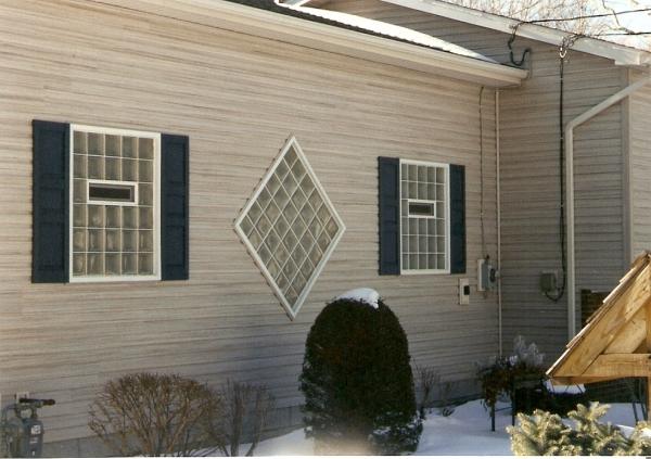 Glass Block Garage Windows.