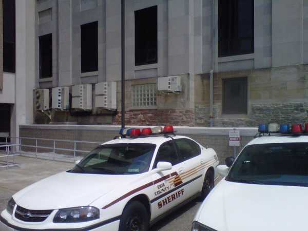 The Erie County Court House
