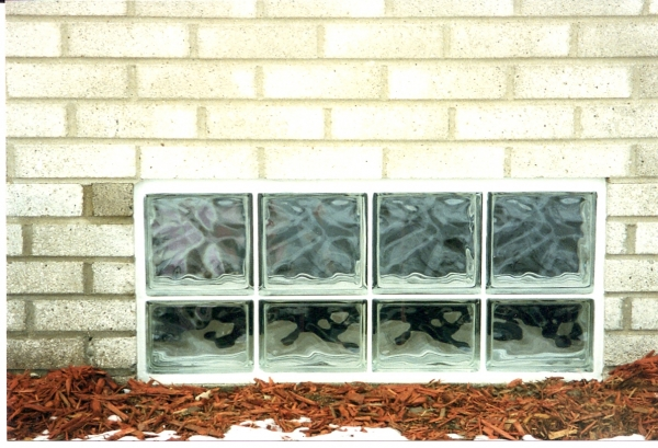 This is a decora panel installed in a poured wall that has a brick imprint on it. you would think that was a bick wall but it wasnt